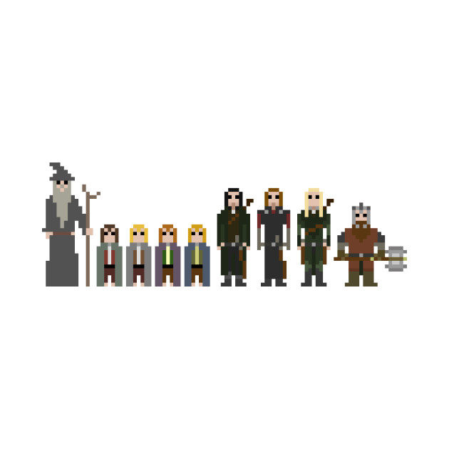 8-bit Lord of the rings