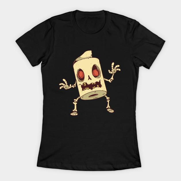 Zombie toilet paper T-Shirt