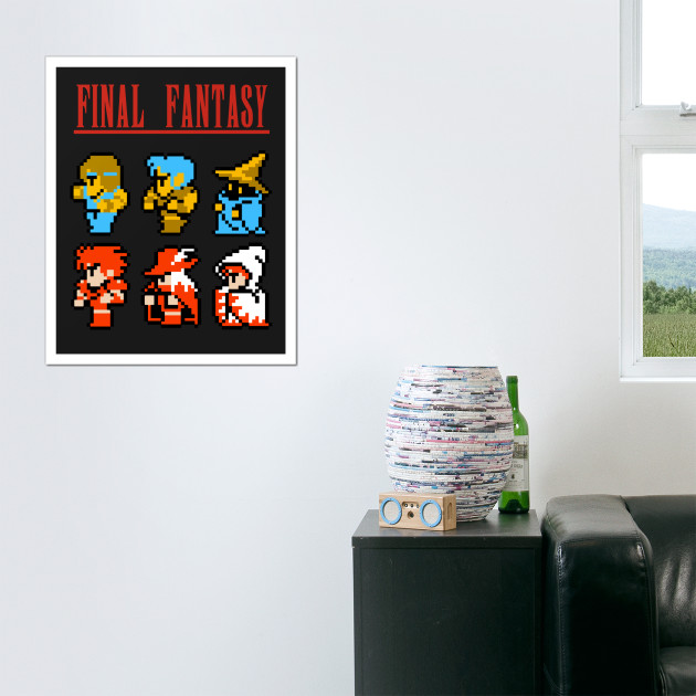 Final Fantasy - NES Icons