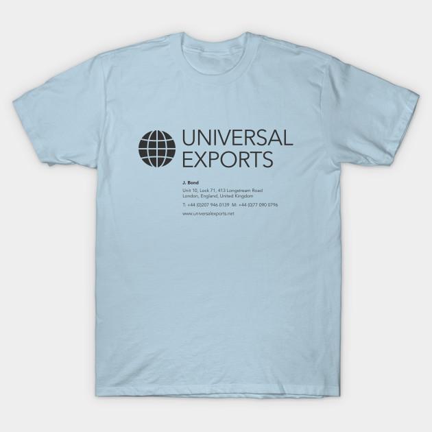 Univeral exports t shirt business card james bond t shirt 1811541 1 colourmoves