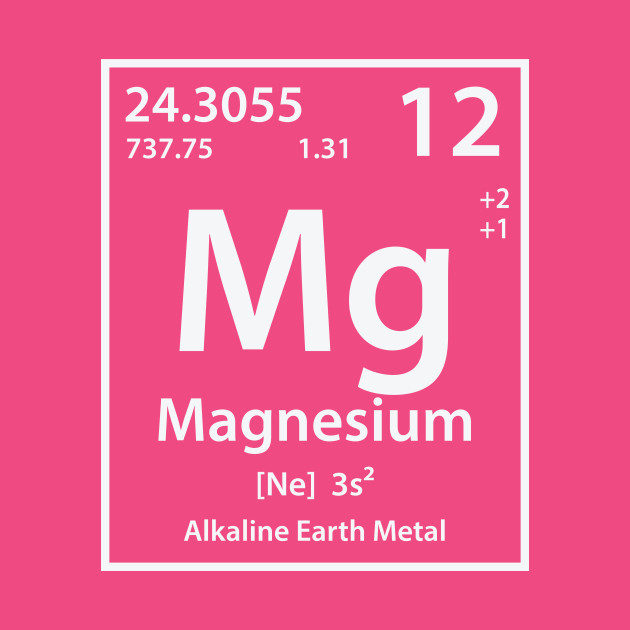 Magnesium element magnesium t shirt teepublic urtaz Choice Image