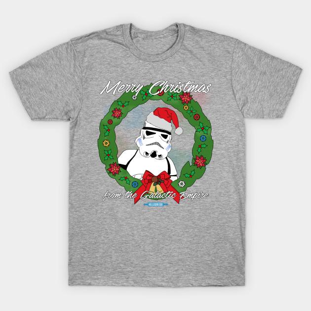 ceb1e289 Merry Christmas from the Empire! - Star Wars - T-Shirt | TeePublic