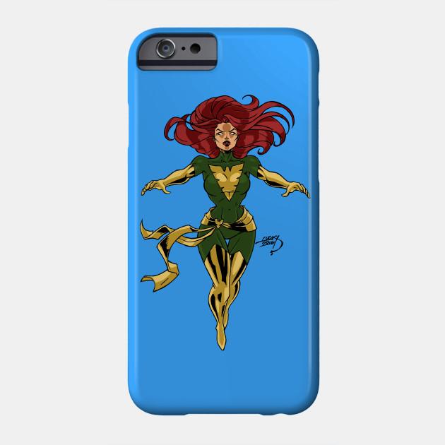 Wolverine and Dark Phoenix iphone case