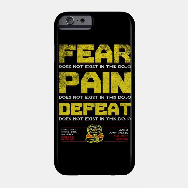 dd153b03 Cobra Kai Quotes - Cobra Kai - Phone Case   TeePublic
