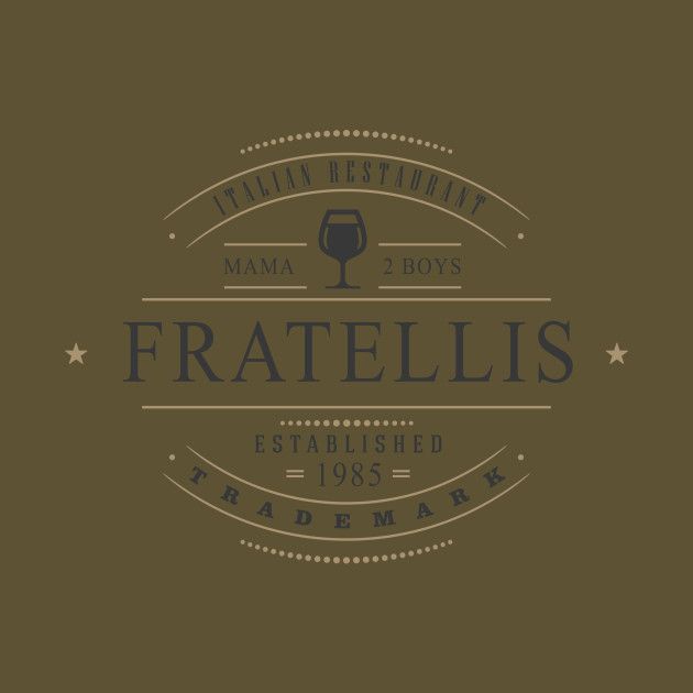 Fratellis family restaurant movie t shirt teepublic