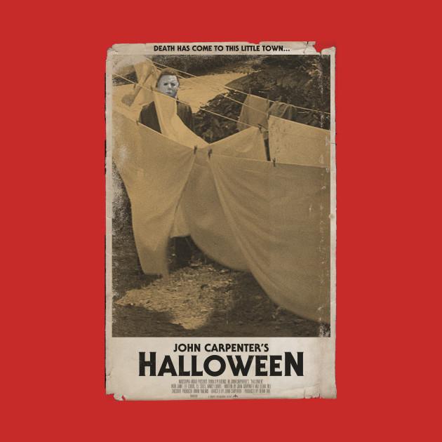 Halloween Movie Poster Tee