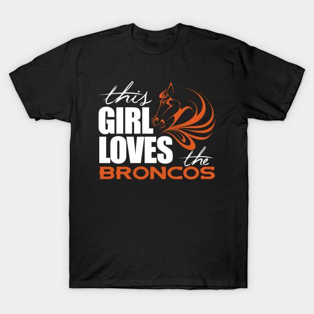 denver broncos girl shirts
