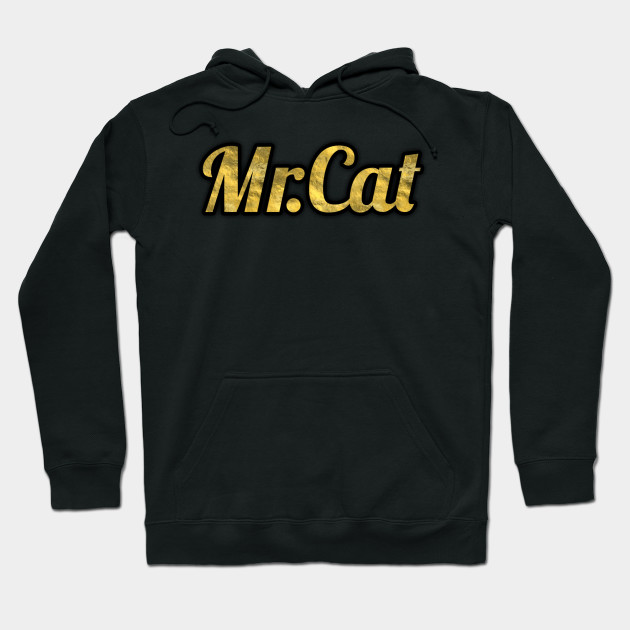 323499175966 Gold Mr.Cat merchandise - Youtube - Hoodie