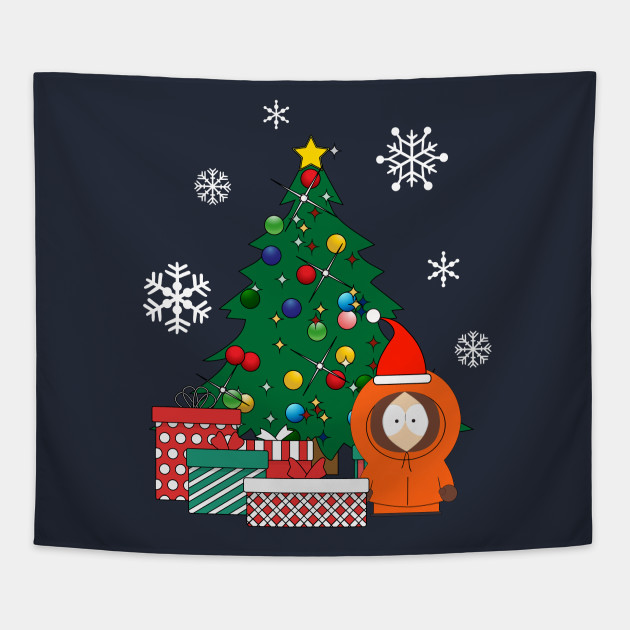 South Park Christmas.Kenny Around The Christmas Tree South Park