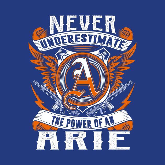 Never Underestimate The Power of Arie Hoodie Black