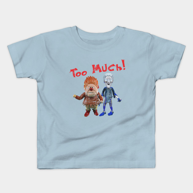 Youth HEAT MISER Christmas T Shirt Holiday T-Shirt
