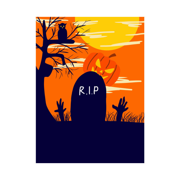 Graveyard Halloween
