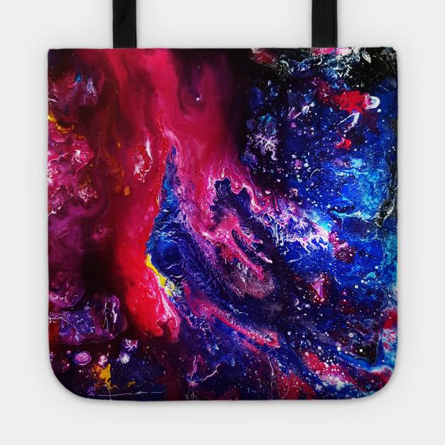 Galaxy Acrylic Painting Part 2