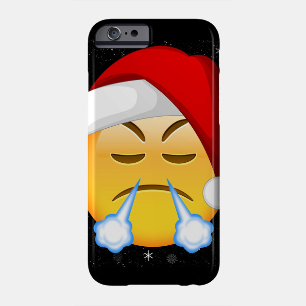 64d768483 Funny Face With Look Of Triumph Emojis Christmas Shirt Gift - Funny ...
