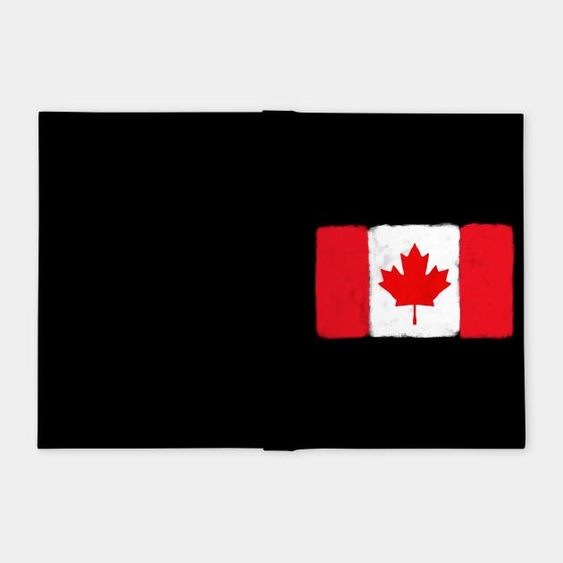 Canada Grunge Flag