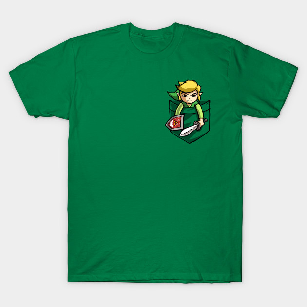 POCKET LINK - Zelda - T-Shirt | TeePublic