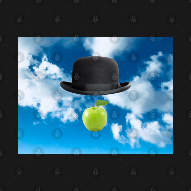 Homage to Magritte - The Son Of Man