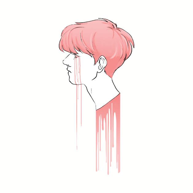 bleeding pink