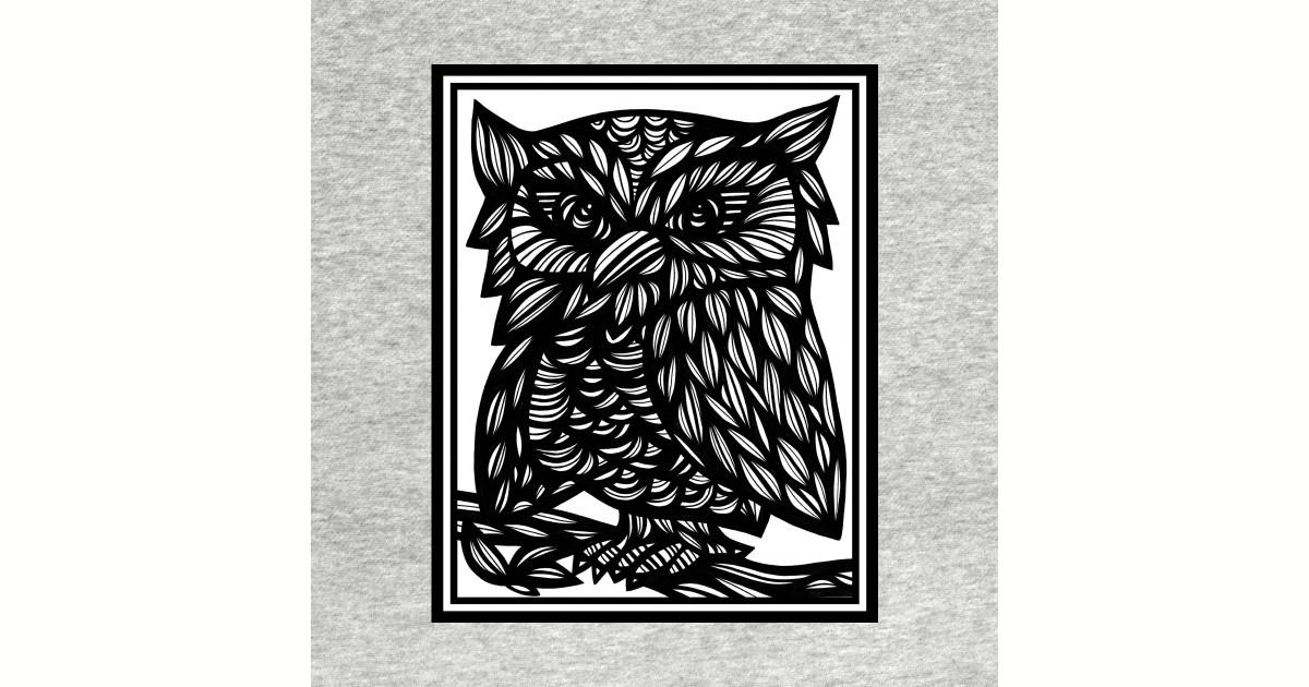 Owl, Art Print, Illustration Bird, Wall Art, Art Print Birds, Bird Artwork,  Affordable Art, Wall Decor, Home Decor, Fine Art Drawings by 631art