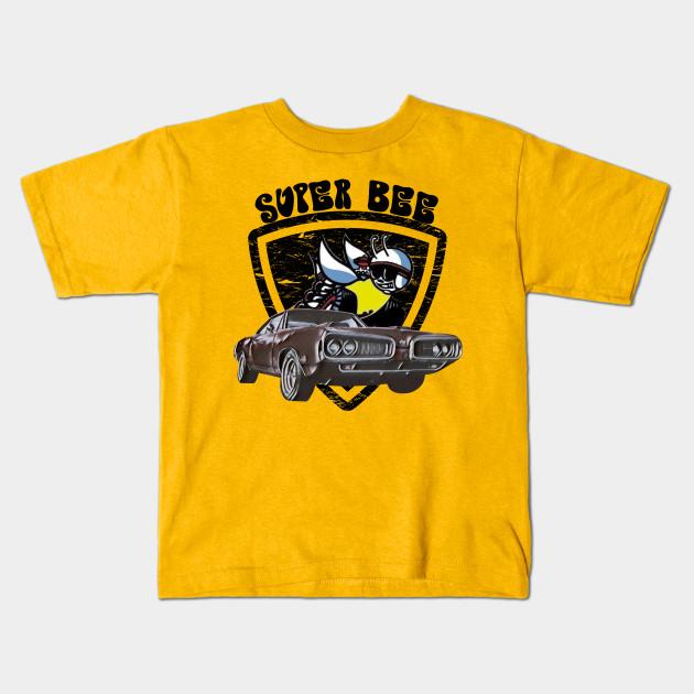 4535bf1f4 Super Bee Muscle Car - Dodge Super Bee - Kids T-Shirt | TeePublic