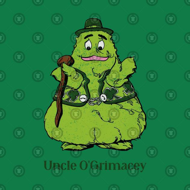 Uncle O'Grimacey Irish McDonaldland Grimace (Distressed)