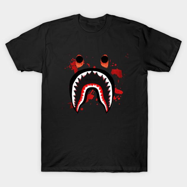 04152790db0d Bape Shark Shirt - Bape - T-Shirt