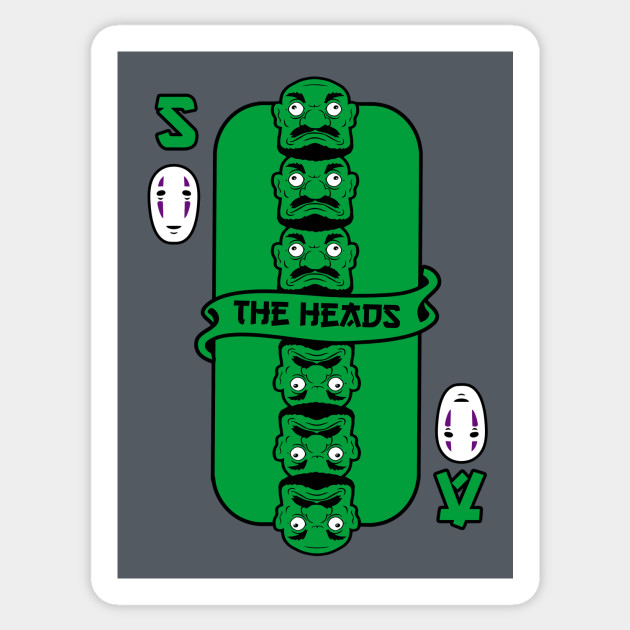 The Heads card