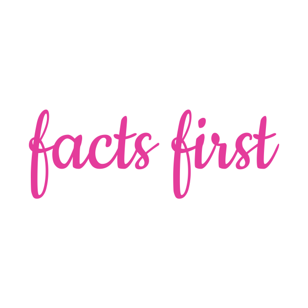 Facts First Fact Check News Anchor