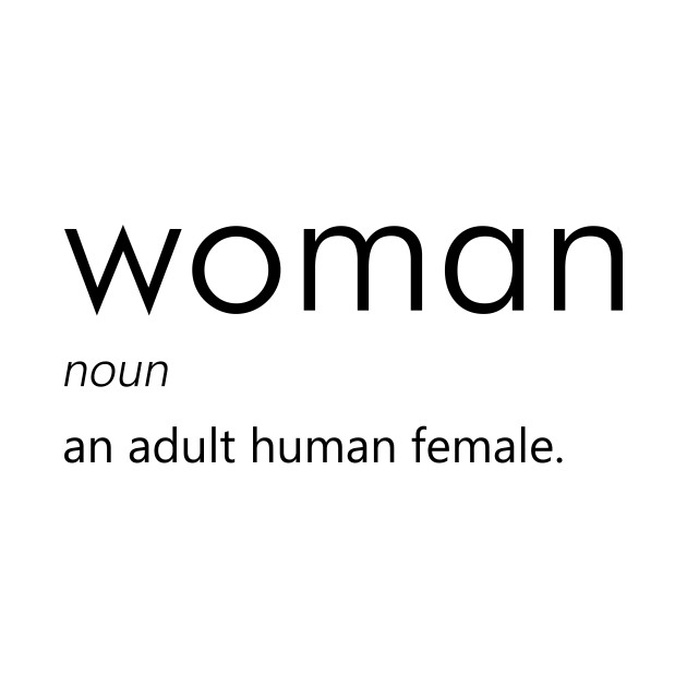 what is the definition of a woman