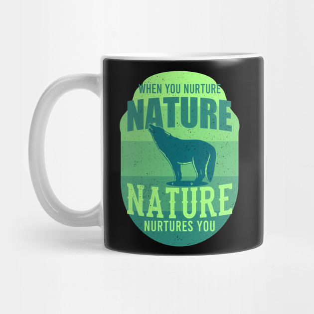 Nature Nurtures Wildlife Gift For Animal Lovers