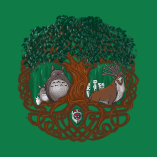 Guardians of the Forest t-shirts