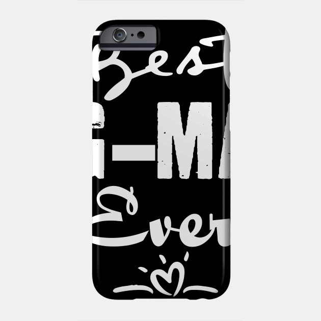 Best G-Ma Ever Grandma Christmas Mother's Day Birthday Gift Phone Case