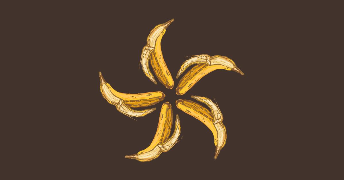 Infinite Banana - Bananas - T-Shirt   TeePublic