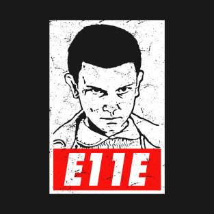 Eleven E11E Stranger Things t-shirts