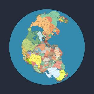 Pangea Modern Borders t-shirts