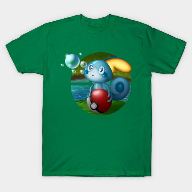 9466818e Sobble Bubble - Pokemon - T-Shirt | TeePublic
