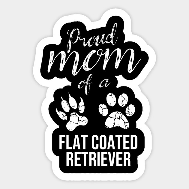Proud Mom of A Flat Coated Retriever