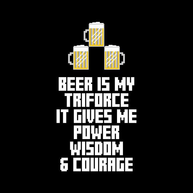 Beer is my triforce