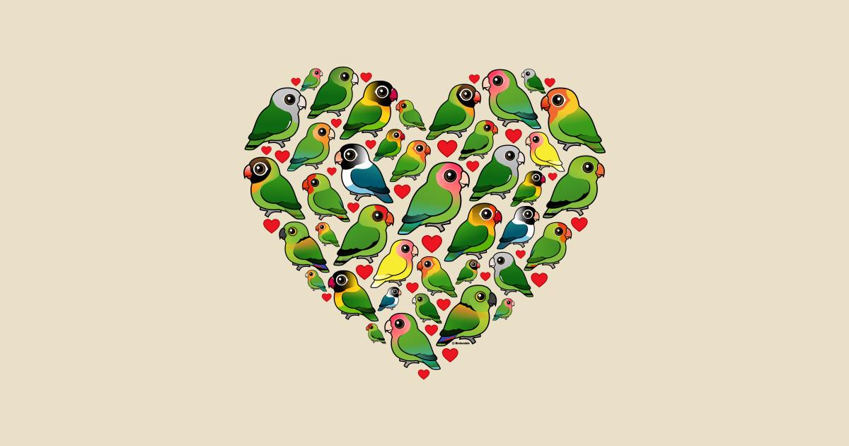 Birdorable Lovebird Heart