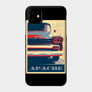 Chevy C-10 Pickup - black iphone 11 case