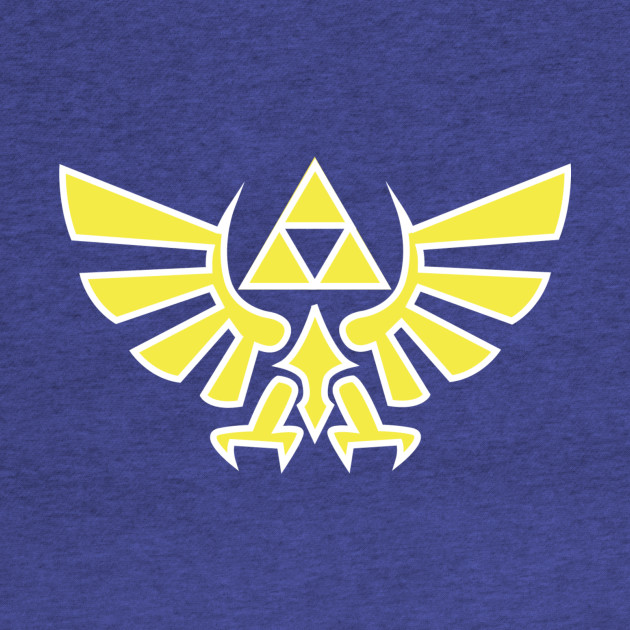 HYLIAN COURT - TRIFORCE SIGN