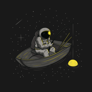 Lonely fishing t-shirts