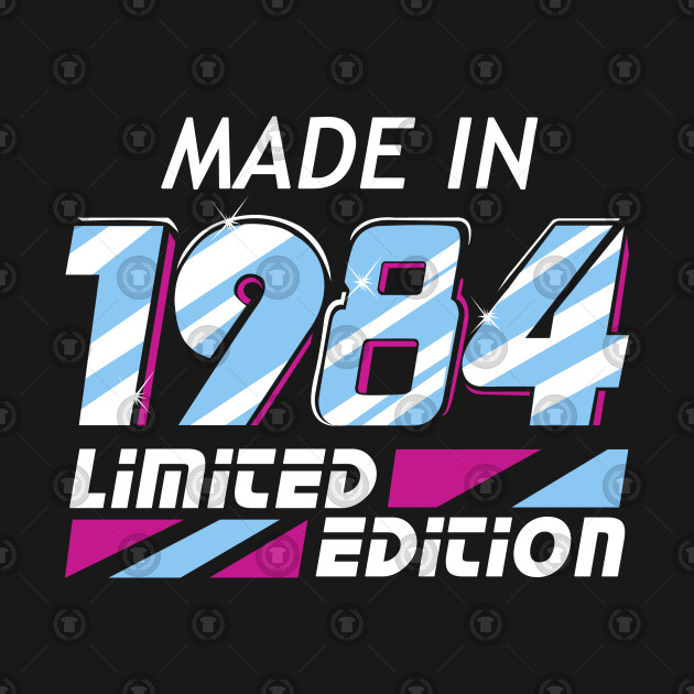 Made in 1984 All Original Parts 34 Birthday Gift