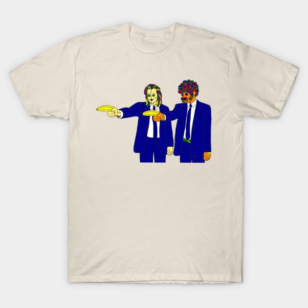 51cafc7c Ragdoll Ezekiel 25:17 Pulp Fiction - Pulp Fiction Movie - T-Shirt ...