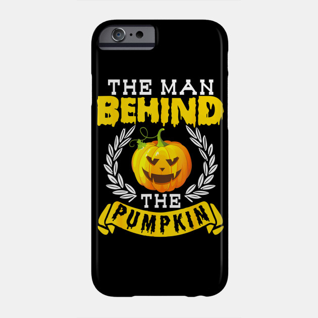 Halloween Pregnancy Man Pumpkin Funny Party Gift Phone Case