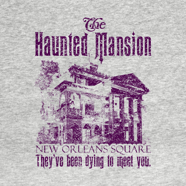 Haunted Mansion - Disneyland - Purple