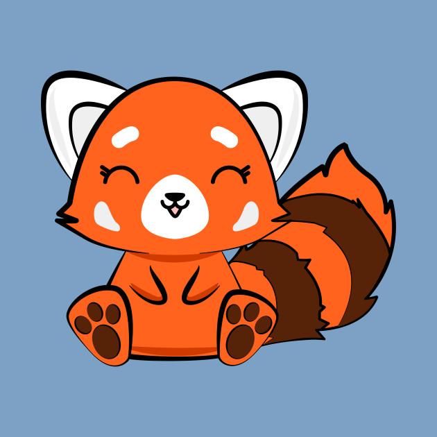 Kawaii Cute Red Panda