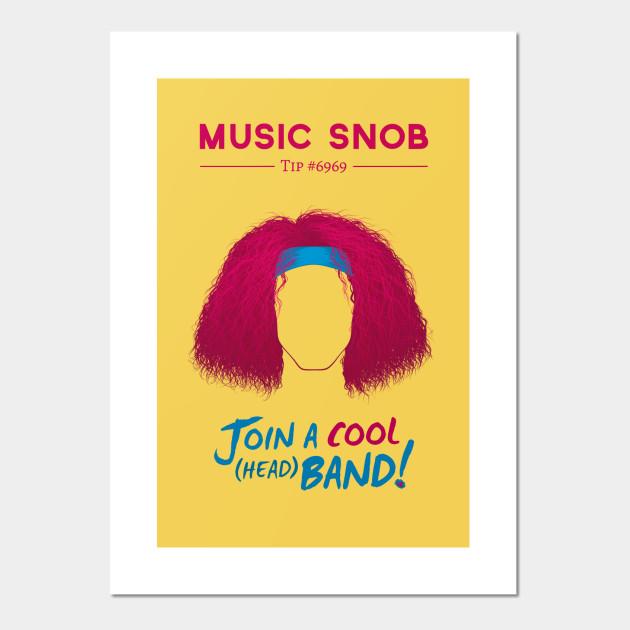 super cool head band danny sexbang posters and art prints