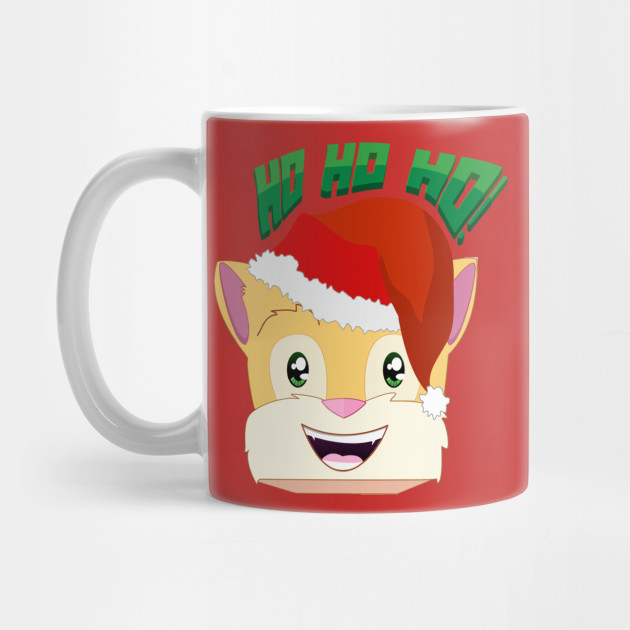 Stampylonghead Christmas.Minecraft Youtuber Stampy Cat Santa Christmas Winter Holiday Limited Edition Ho Ho Ho Stampy Cat Christmas T Shirt By Visionarymediagroup