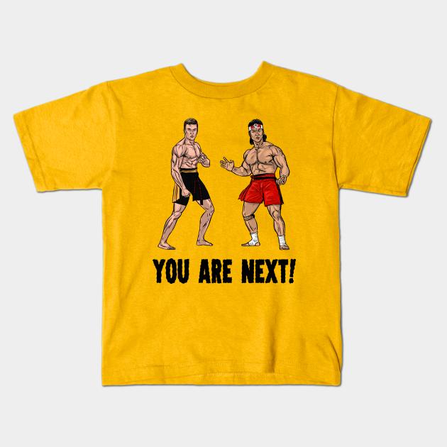 Van Damme Bloodsport You Are Next Tshirt Unisex /& Kids